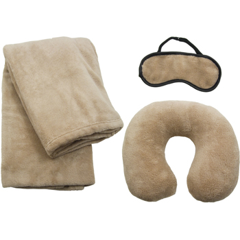 Pillow,Blanket & Eye Mask Set UTFU-2000