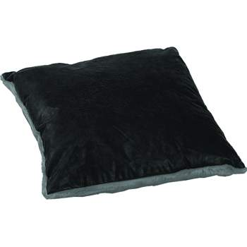 Luxurious Leather/Faux Fur Pillow GVSQ-5001